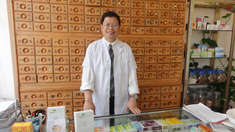 Picture of Dr J Zhou at Total Wellbeing
