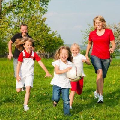 Family running with kids - natural health - health and fitness magazine - my sheen village