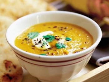 Carrot and lentil soup - Aunt Maisie's Kitchen - Food and DRink - my sheen village