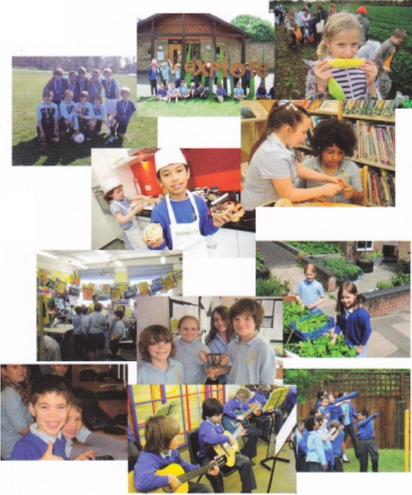 East Sheen Primary School montage
