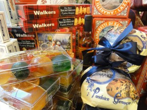 My Sheen Village - Kew Shops - Olivers Christmas candied fruit and biscuits