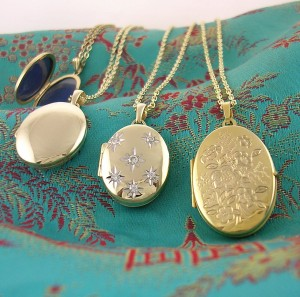 My Sheen Village - Shopping in Richmond - Gregory and Co - Gold lockets