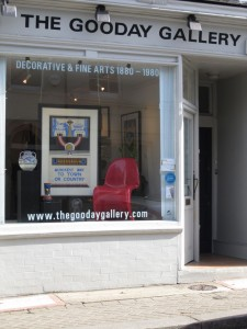 My Sheen Village - Shopping in Richmond - The Gooday Gallery - shop front