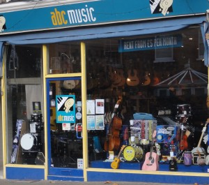 My SheenVillage - Kew Shops - ABC Music - shop front
