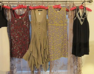 My Sheen Village - Shopping in Richmond Hill - Vintage Rose - Vintage dresses on rail