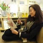 My Sheen Village - Local News and Information - Home and Garden - Surroundings - Natalie on chaise lounge 2