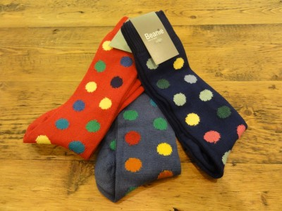My Sheen Village - Local News and Information - St Valentine's Day - Gifts for Men - Palmer - Polka Dot Socks