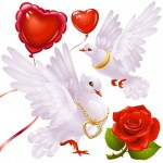 My Sheen Village - Local News and Information - Art and Culture - St Valentine's Day - Montage of roses, hearts, doves 11961774_m