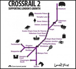 Cross rail 2
